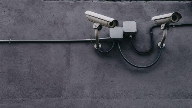 Vanlig overvåkningskamera