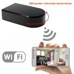 WiFi spionkamera med roterende kameralinse