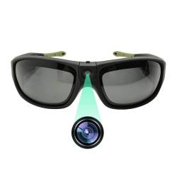 Sportslig solbrille med HD kamera