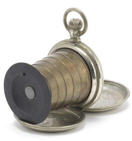 spionkamera i lommeklokke