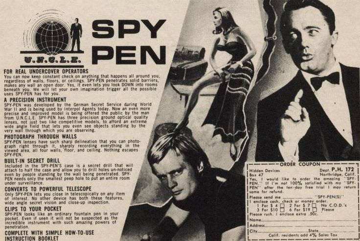 reklame spionpenn