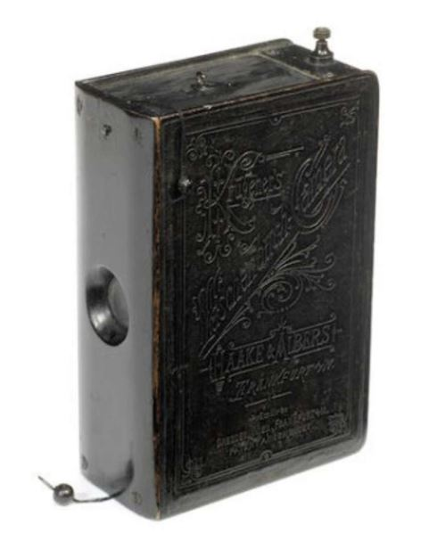 spionbok med skjult kamera