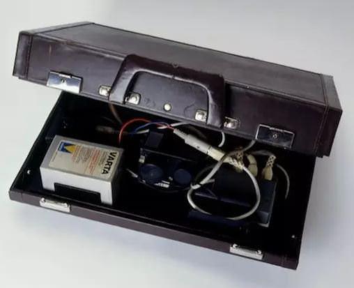 spionkamera skjult i koffert