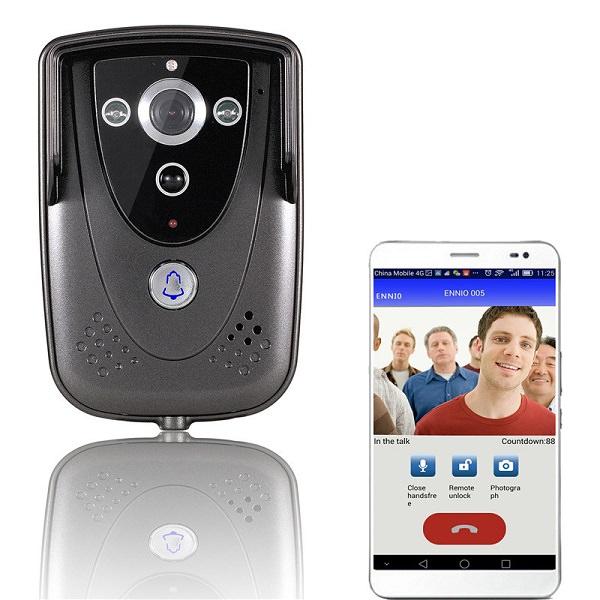 ringeklokke med IP kamera