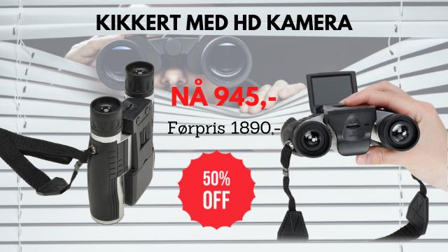 kikkert med HD kamera tilbud